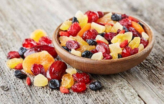 Trái cây sấy khô - thực phẩm lý tưởng cho bữa ăn nhẹ